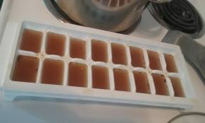 bone broth ice cubes