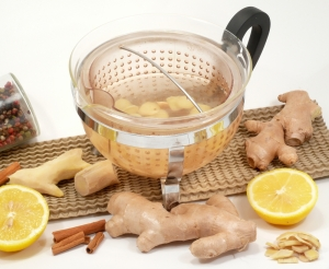 blog ginger strainer