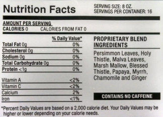 blog iaso nutrition facts