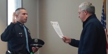 blog oath, officer taking oath