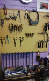 CT 12 tools on wall